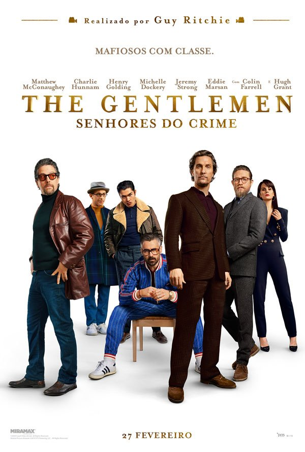 The Gentlemen Senhores do Crime смотреть онлайн