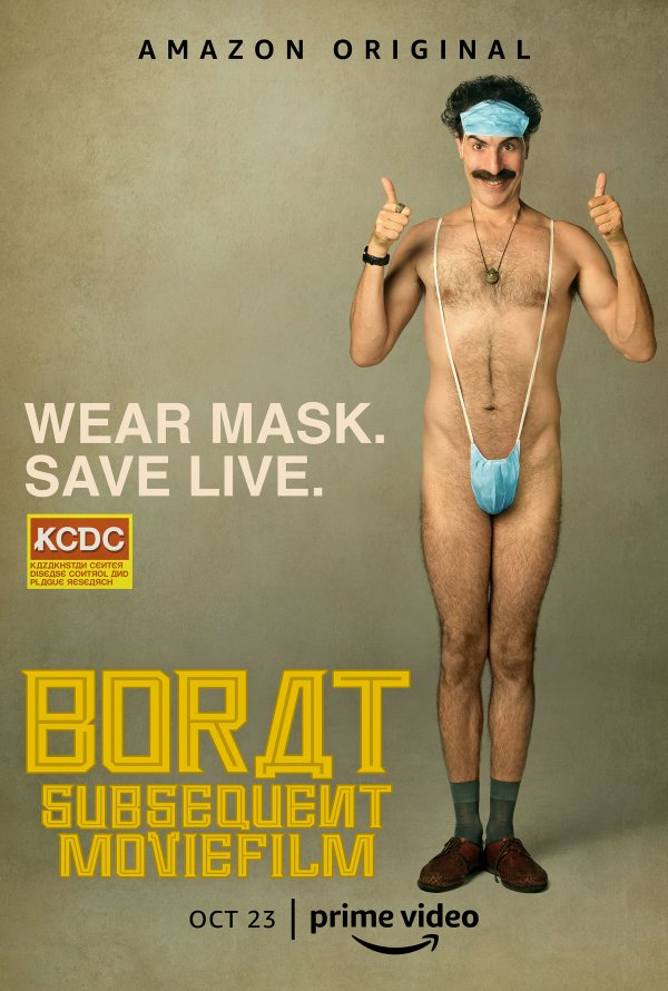 Borat Subsequent Moviefilm (Borat Fita de Cinema Seguinte) смотреть онлайн